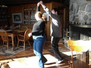 Waltzing at Stouffer Mill B & B