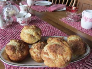Jessie's Plum & Ginger Muffins